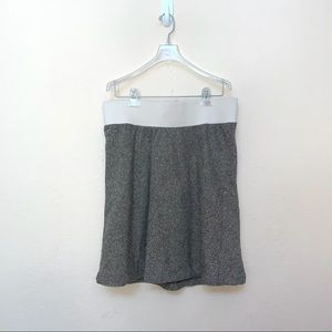 ✅ Duo Maternity Brown Tweed Skirt
